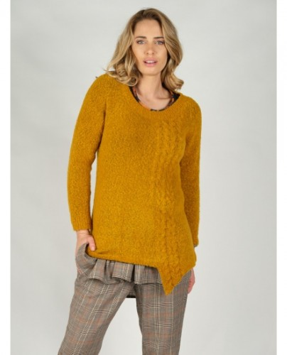 Pull long moutarde...